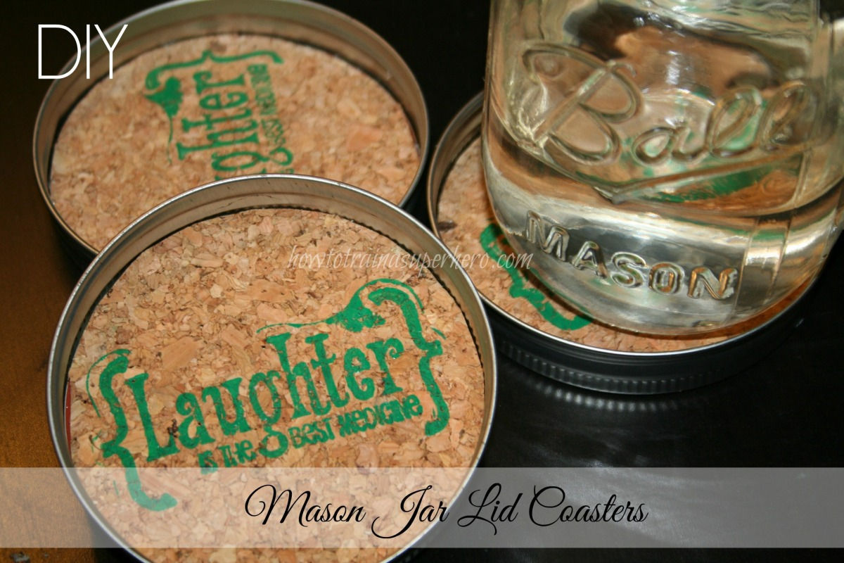 Holiday Gift Guide: DIY Mason Jar Lid Coasters