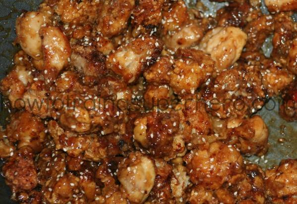 Chinese Food Seasme Seed Desert