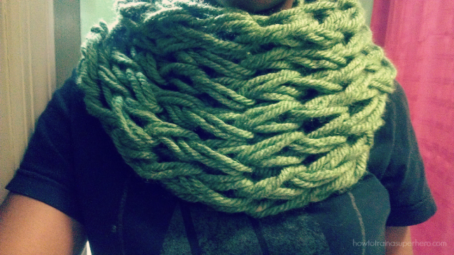 infinity scarf >>howtotrainasuperhero.com