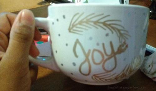 Joy Mug>>howtotrainasuperhero.com